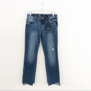 Kut from the Kloth Reese Ankle Distressed Jeans